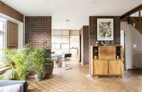 Midcentury 'chalet bungalow' for sale in the Suffolk countryside