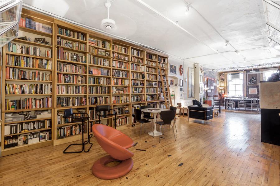 Bibliophile's loft in SoHo, Manhattan