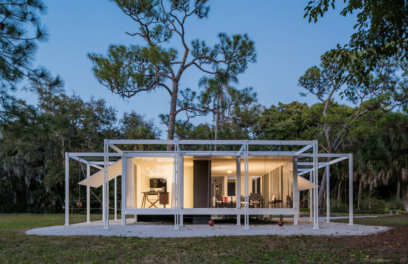 Full-scale replica of Paul Rudolph's Walker Guest House heads to auction