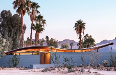 Walter S White's seminal Wave House gets a refurb in Palm Desert