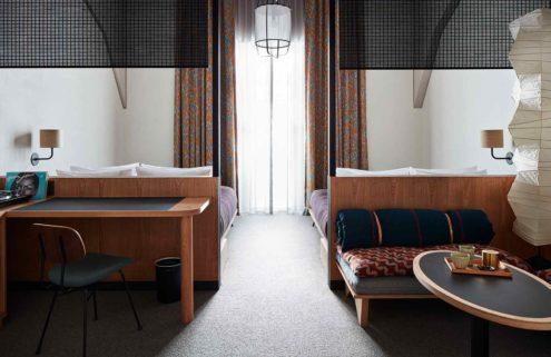 Peek inside Kengo Kuma's Ace Hotel Kyoto