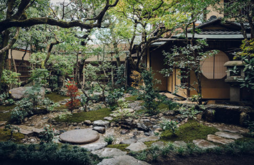 This restaurant turned ryokan is steeped in Kyoto tradition