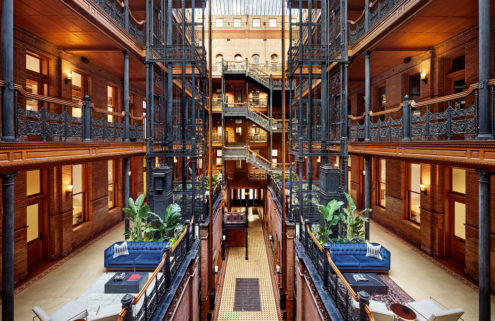 Big screen icon The Bradbury Building is now home to NeueHouse in LA