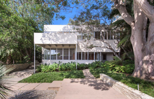 Richard Neutra's refurbished Sten-Frenke House lists for $15m