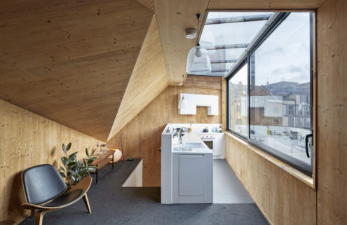 It's all about the angles inside this live/work London home