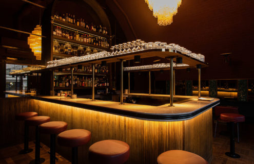 Intimate London cocktail bar Smokey Kudu is hidden beneath a railway arch