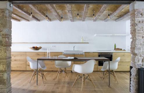 Architect Gustavo Barba revives a historic townhouse in Barcelona's Gràcia district