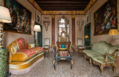 This maximalist Venice garden apartment proves more is more