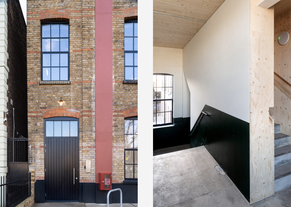 East London's Button Factory Lofts blend rustic and industrial finishes