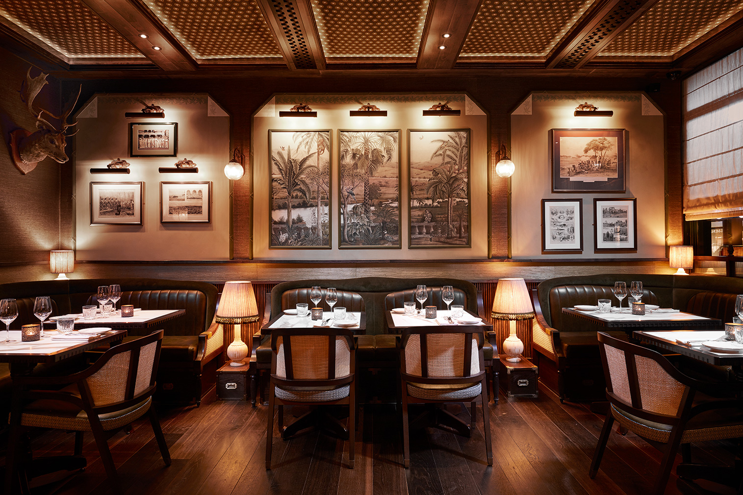 London restaurant Gymkhana harks back to the days of India's high society clubs