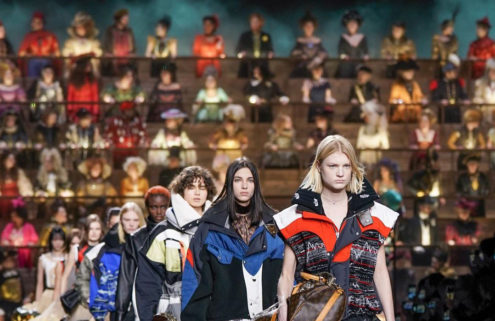Louis Vuitton's AW20 show brought fashion history to life