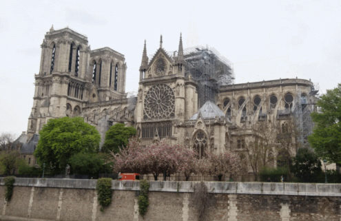 Thieves tried to break into Notre-Dame Cathedral