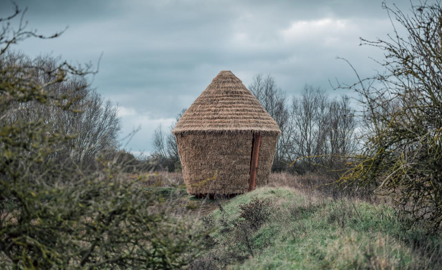 Studio Morison builds a 'spiritual' sanctuary out of straw in Cambridgeshire