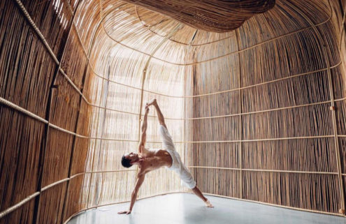 Vikasa's new Bangkok studio has free-form yoga pods