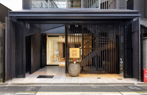 Maja puts a Nordic twist on Japan's infamous capsule hotels