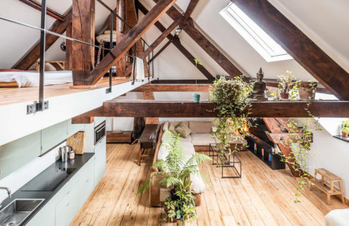 Restored Antwerp hotel turned theatre is now a 7,000 sq ft home
