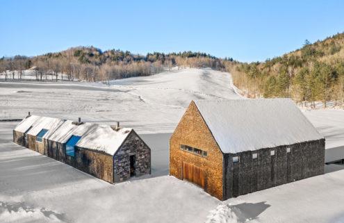 An award-winning gabled farmhouse by Rick Joy lists for  $9.75m