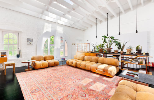 A rare red brick carriage house hits the market in Brooklyn