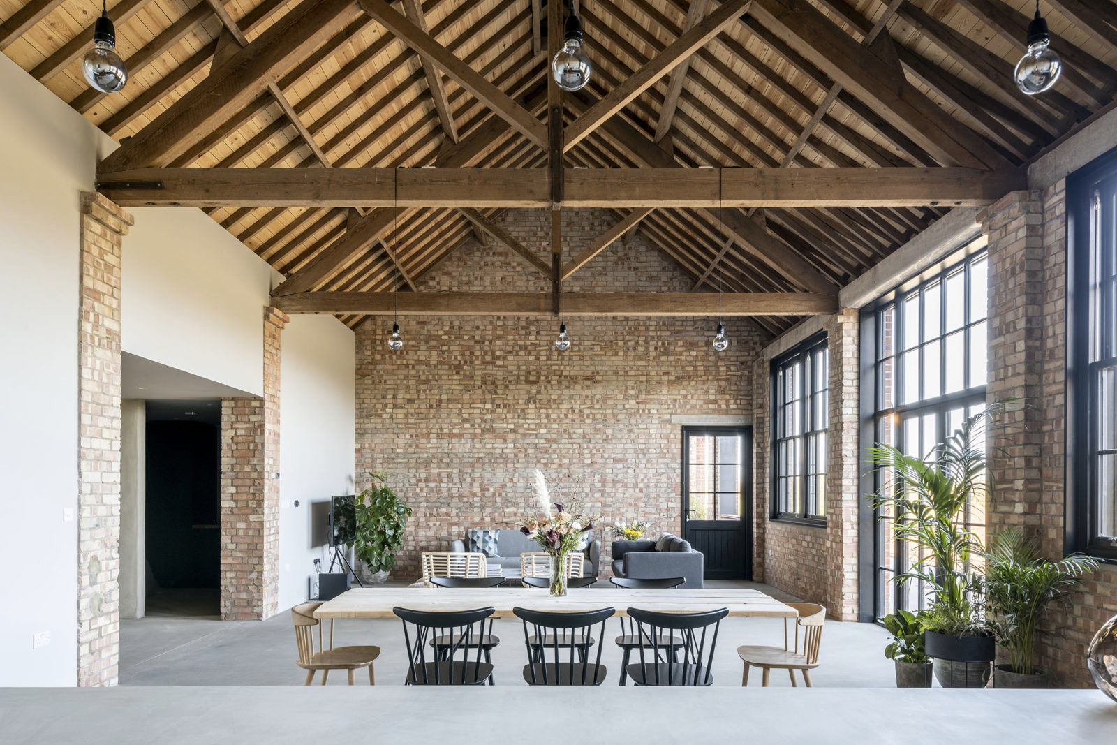 Rustic meets industrial at this £710k barn conversion in Suffolk