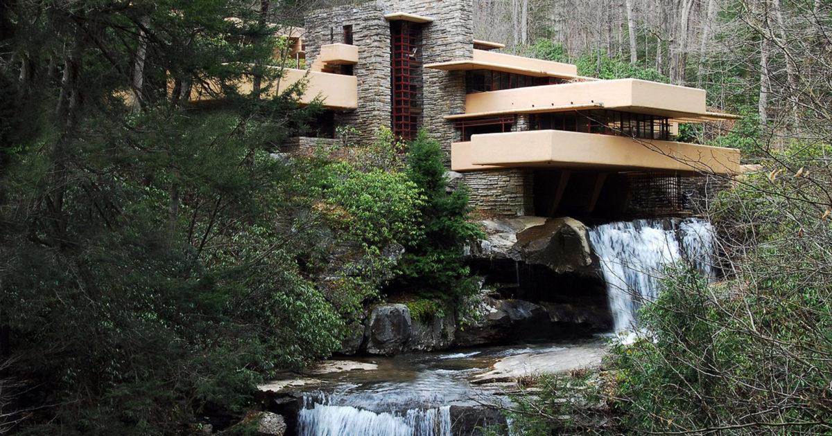 Fallingwater House by Frank Lloyd Wright