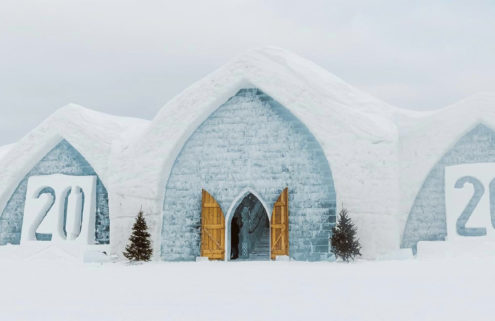 Take a virtual walk through of Quebec's Ice Hotel