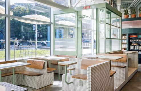 Montreal's Melk Cafe hones a retro-industrial vibe