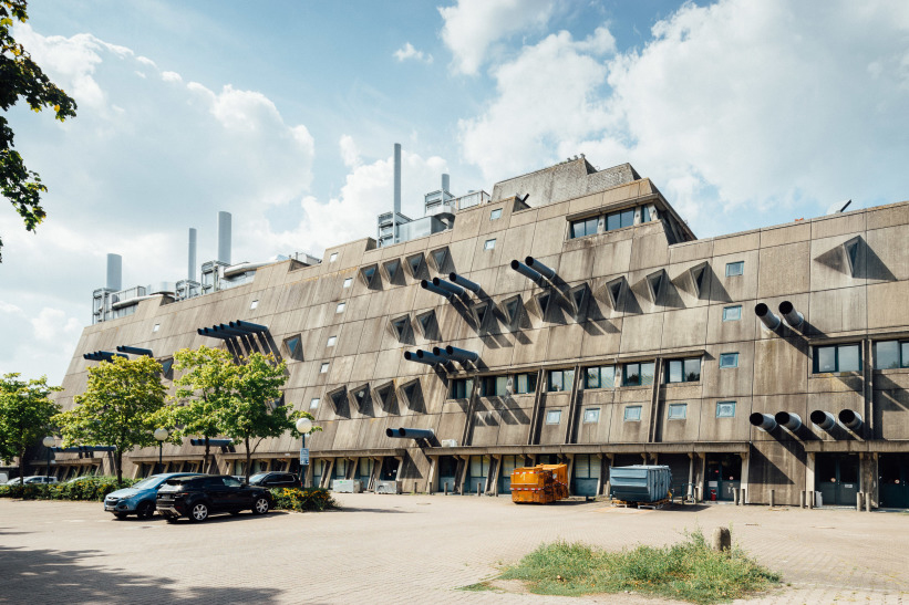 Berlin's Brutalist 'Mouse Bunker' is set for the wrecking ball