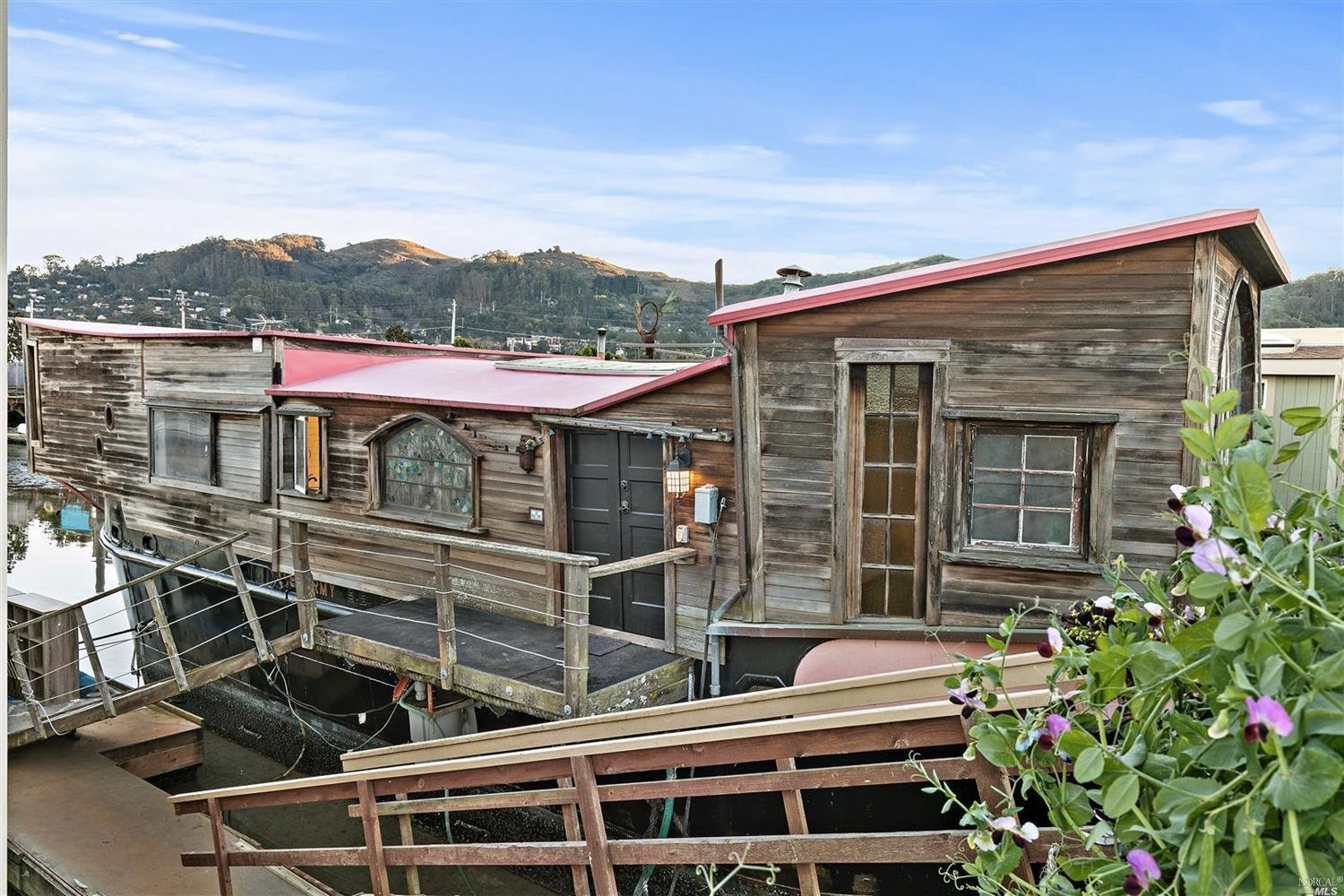 Author Shel Silverstein's former barge home is for sale in Sausalito
