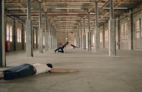 Choreographer Lee Serle explores the passage of time in an empty warehouse