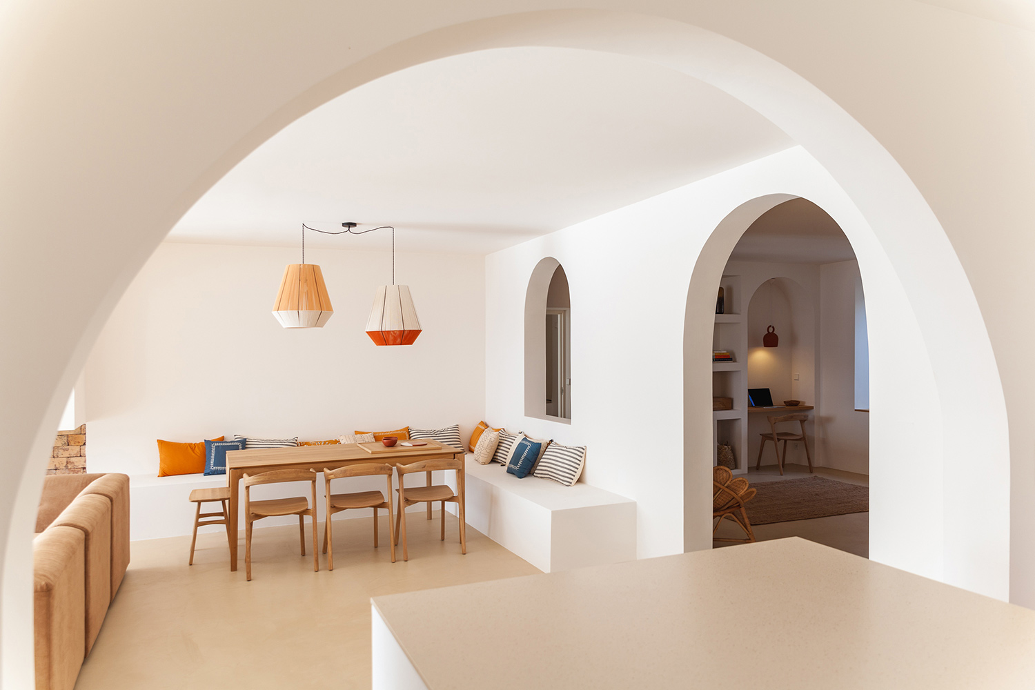 A Corsican beach house is given a new lease of life by architect Amelia Tavella