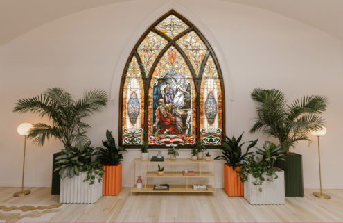 This former LA church is now a worshipful new coworking space