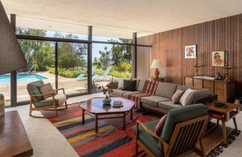 Sleek midcentury Pasadena home by John F Galbraith lists for $2.19m