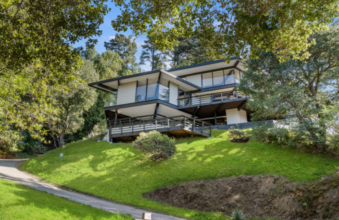 Benjamin Fishstein's midcentury modern house is for sale in California