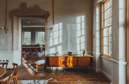 This country estate turned hotel finds beauty in imperfection