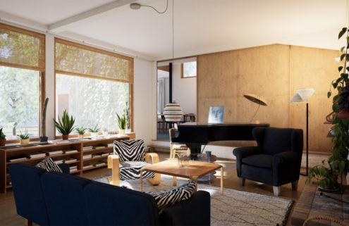Tour Alvar Aalto's Helsinki home in VR