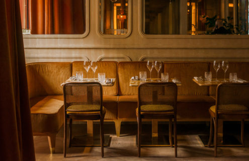 Paris's Nolinski restaurant harnesses a golden 1970s style