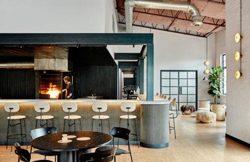 London's Silo restaurant has a zero-waste ethos and interiors