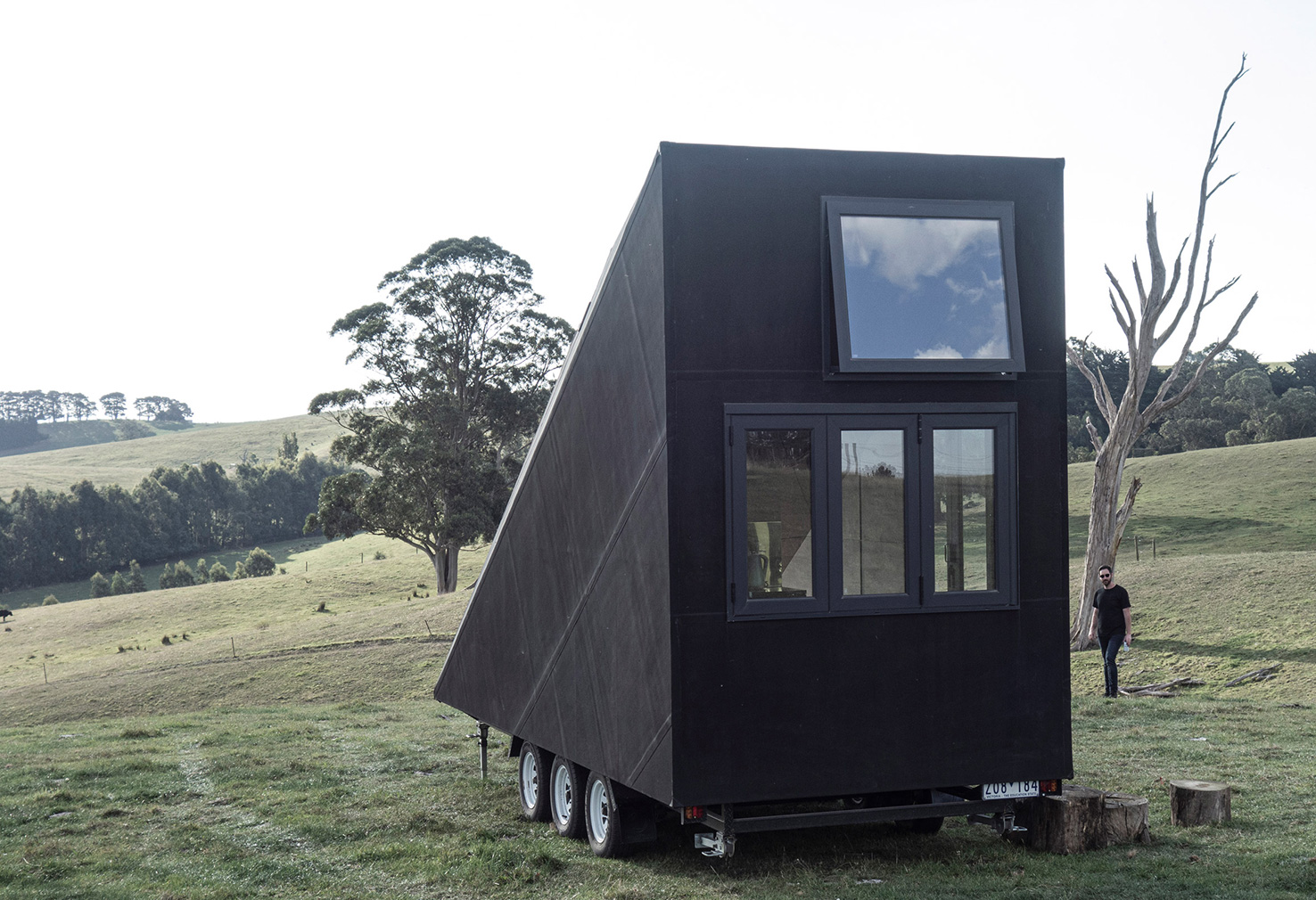 Base Cabin is a minimalist tiny home you can tow