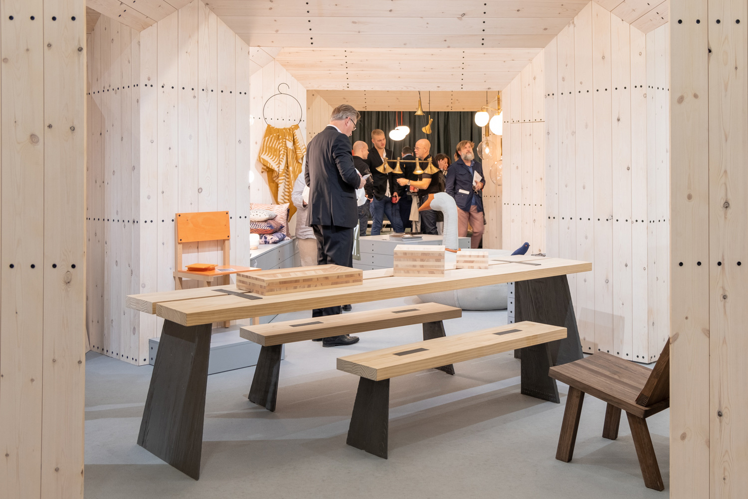 The Swedish pavilion at the 2019 London Design Fair.