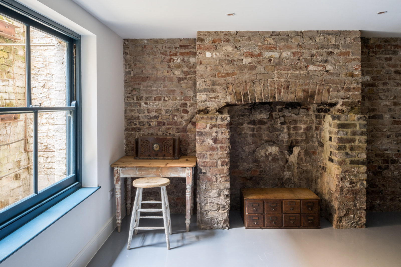 Converted Victorian butcher's for sale in London is decked in period features