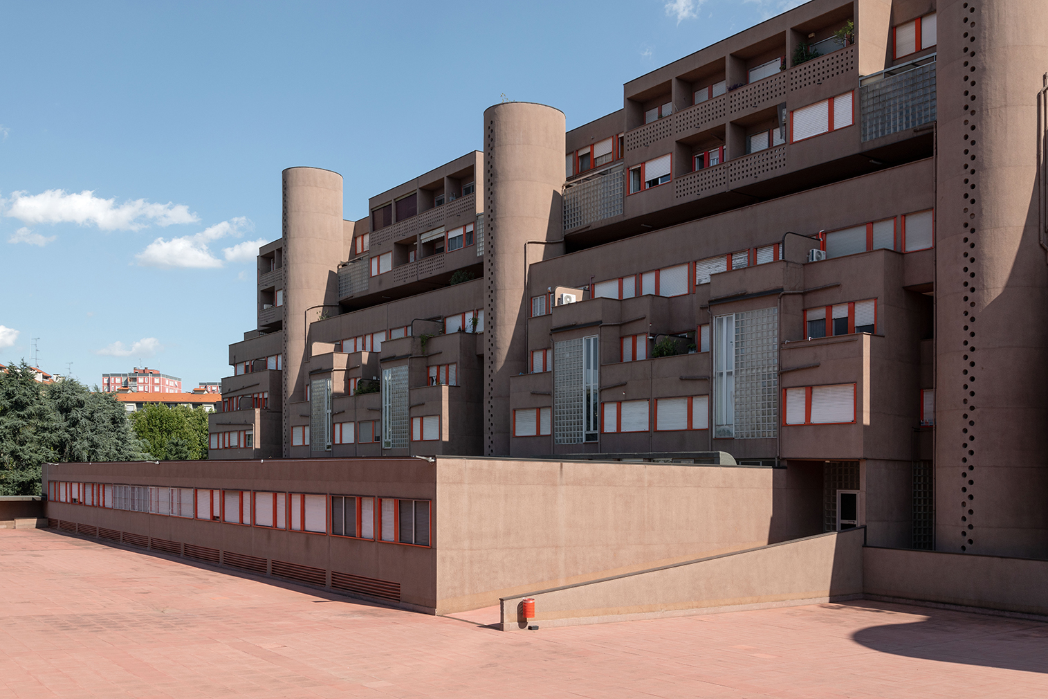 Explore Milan's iconic Monte Amiata housing complex