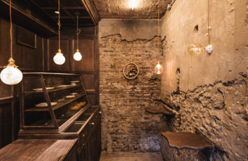 This Shanghai cafe measures just 20 sq m