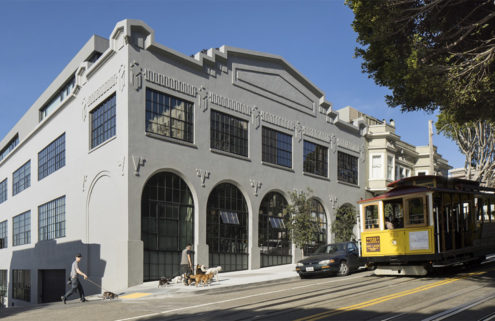 An industrial 1920s garage loft is for sale in San Francisco