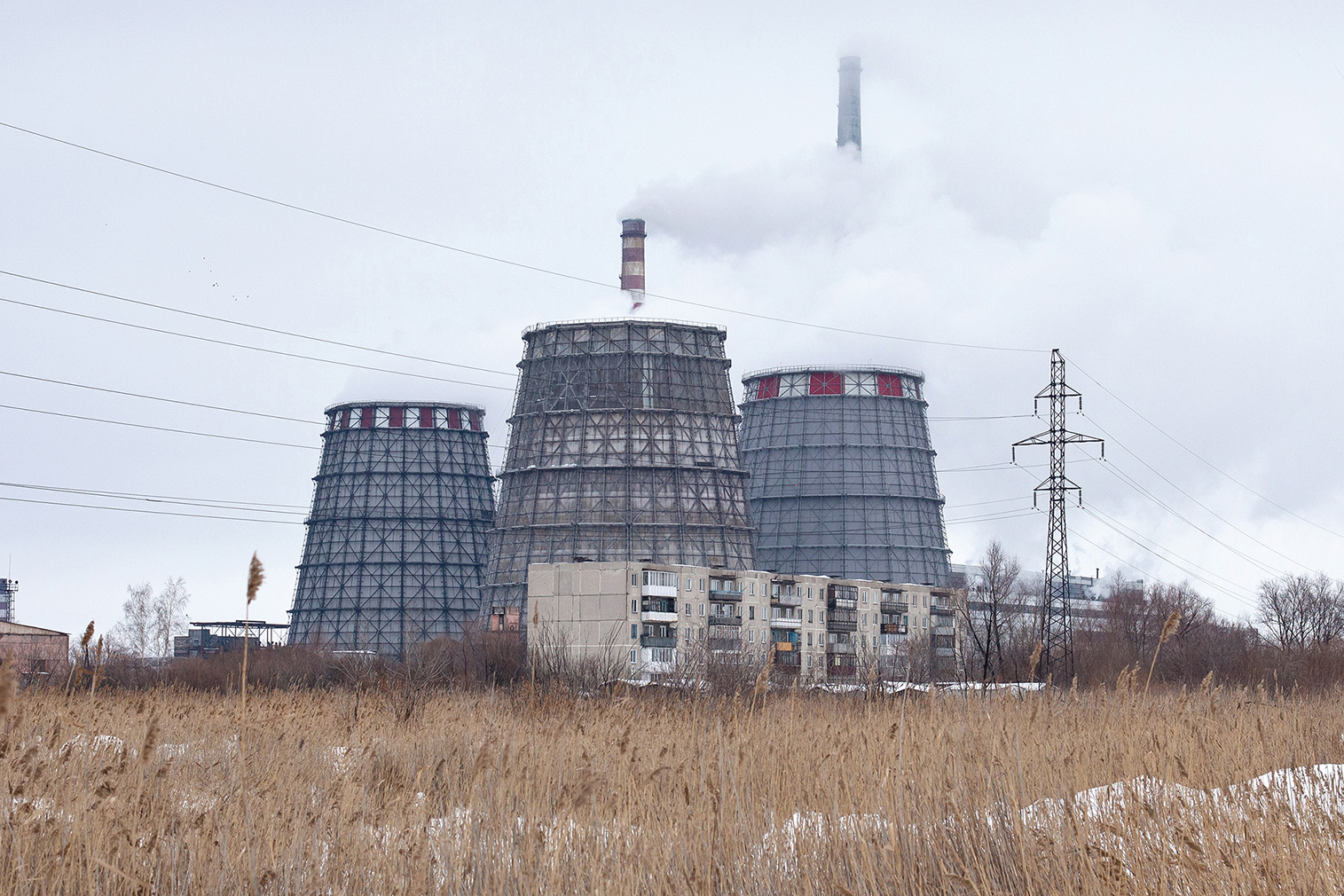 TETs-5 electric power station, Tsentralny District, Omsk. Photography: Alexander Veryovkin © Zupagrafika, 2020