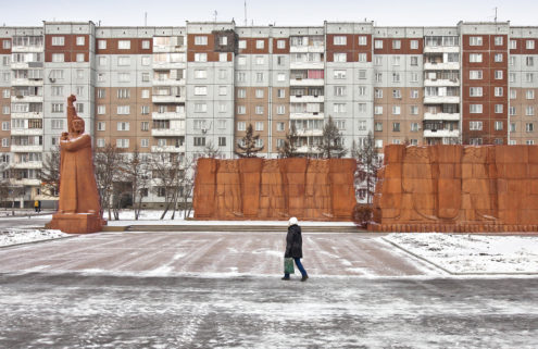 Capturing Siberian modernism – frozen architecture from the Atomic Age