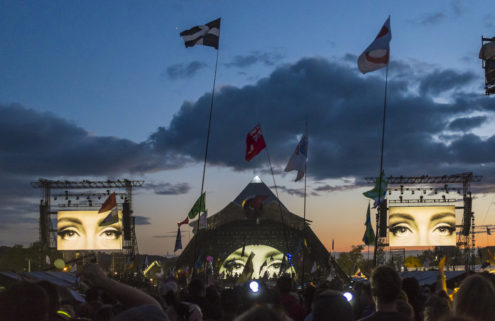 The V&A has opened its Glastonbury archives for a virtual festival experience