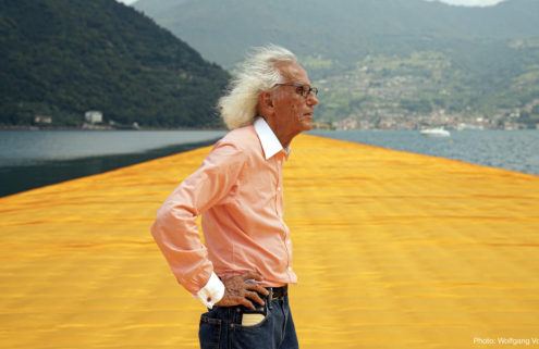 Public art pioneer Christo has died at the age of 84