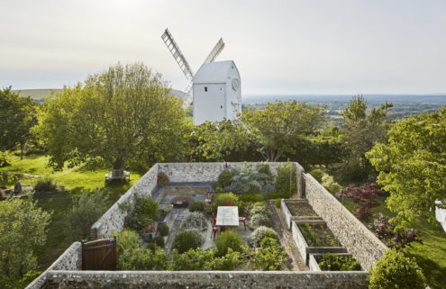 An award-winning windmill complex is for sale in West Sussex
