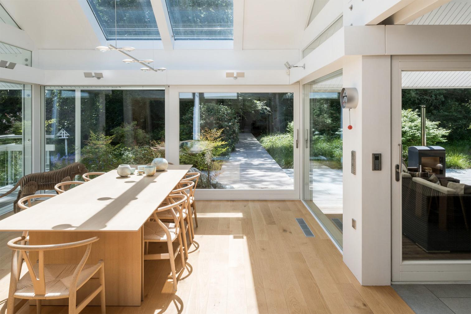 Light-filled Huf House in London's commuter belt asks for £3.6m via The Modern House