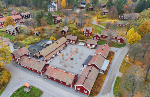 Swedish wellness village with Wes Anderson vibes asks for £5.9m